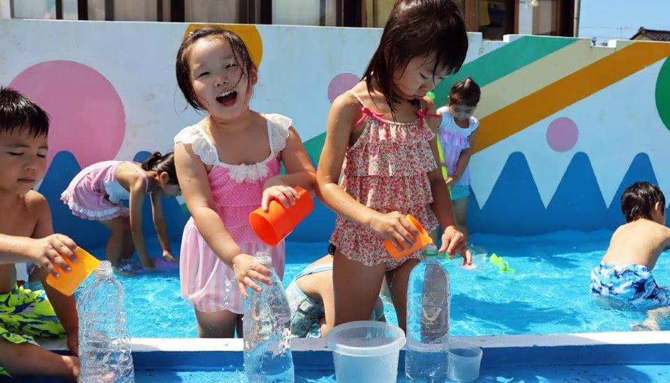 水遊び~プール遊び~